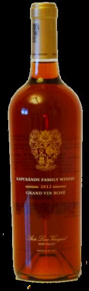 2012 Grand Vin Rosé