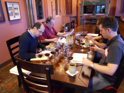 2010 vintage blending trials